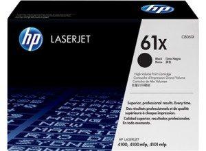 jual HP 61X Black Original LaserJet Toner Cartridge (C8061X)
