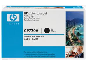 HP 641A Black Original LaserJet Toner Cartridge (C9720A)