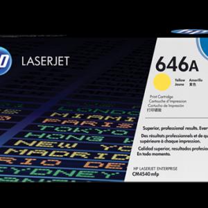 jual HP 646A Yellow Toner Cartridge (CF032A)