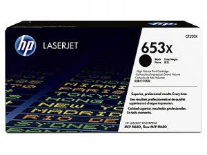 gambar HP 653X High Yield Black Toner Cartridge (CF320X)
