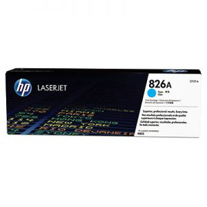 gambar HP 826A Cyan Toner Cartridge (CF311A)