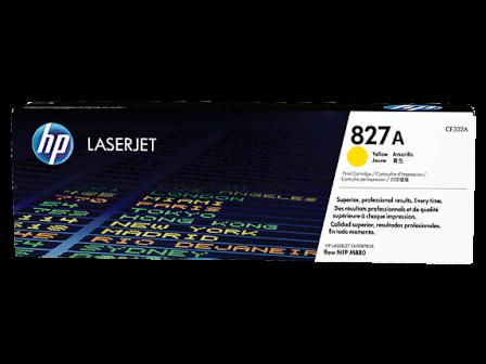 jual HP 827A Yellow Original LaserJet Toner Cartridge (CF302A)