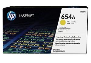 jual HP 654A Yellow (CF332A) Toner Cartridge
