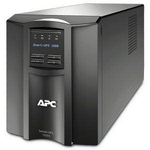 """gambar <h2><a href=""""http://platinum-computer.com/"""" target=""""_blank"""">APC Smart-UPS 1000VA LCD 230V - SMT1000I</a></h2> <p style=""""text-align: center;""""><a href=""""http://platinum-computer.com/wp-content/uploads/2015/10/UPS-APC-Smart-1000VA-LCD-230V-SMT1000I.jpg""""><img class=""""aligncenter size-full wp-image-8371"""" src=""""http://platinum-computer.com/wp-content/uploads/2015/10/UPS-APC-Smart-1000VA-LCD-230V-SMT1000I.jpg"""" alt=""""gambar UPS APC Smart 1000VA LCD 230V - SMT1000I"""" width=""""500"""" height=""""500"""" /></a></p> <span style=""""text-decoration: underline;""""><em><strong><a href=""""http://www.apc.com/shop/id/en/products/APC-Smart-UPS-1000VA-LCD-230V/P-SMT1000I"""" target=""""_blank"""">UPS APC Smart 1000VA LCD 230V - SMT1000I</a></strong></em></span> <strong>SMT1000I Features</strong> APC Smart-UPS 1000VA LCD 230V Intelligent and efficient network power protection from entry level to scaleable runtime. Ideal UPS for servers, point-of-sale, routers, switches, hubs and other network devices. Includes: CD with software , Documentation CD , Installation guide , Smart UPS signalling RS-232 cable , USB cable Cold-start capable Provides temporary battery power when the utility power is out. Energy meter Provides actual kilowatt hours of usage for energy conscious users. Green mode Patent-pending operating mode that bypasses unused electrical components in good power conditions to achieve very high operating efficiency without sacrificing any protection. High online efficiency Reduces utlility costs, generates less heat. Intuitive LCD interface Provides clear and accurate information in multiple languages with the ability to configure the UPS locally with easy to use navigation keys. Predictive replace battery date Dynamically provides the month and year when battery replacement is recommended to aide in long term maintenance planning. Pure sine wave output on battery Simulates utility power to provide the highest degree of compatibility for active PFC (power factor corrected) servers and sensitive electron"""