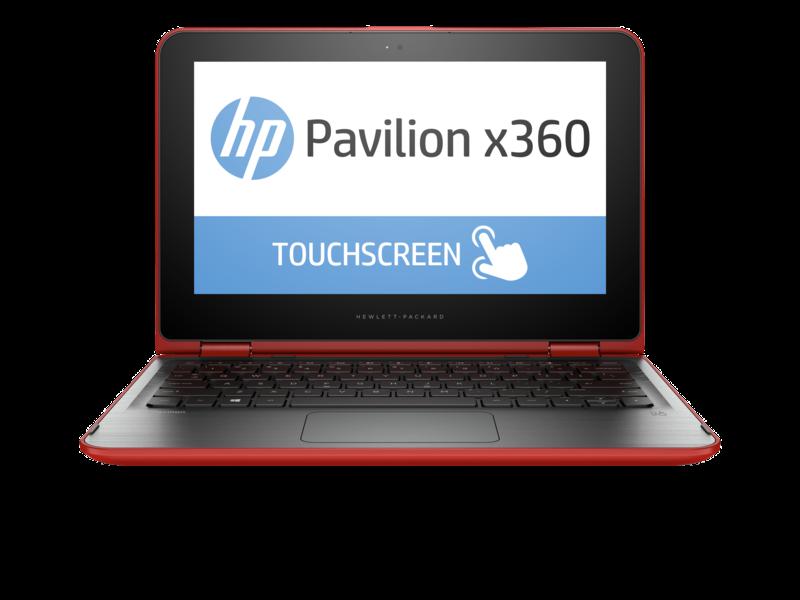 HP Pavilion x360 11-K027TU - Red