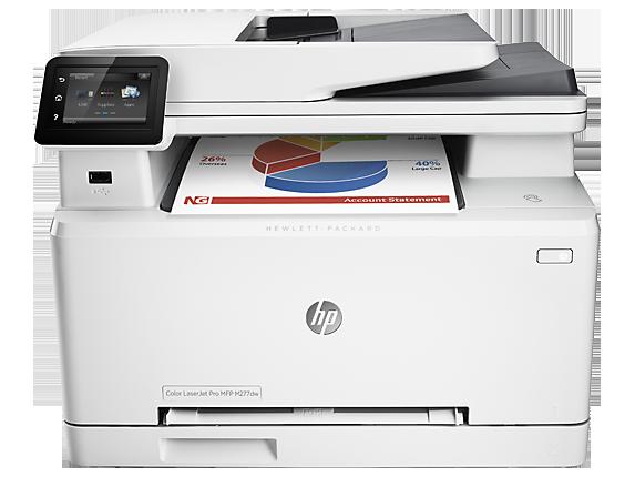 HP LaserJet Pro 200 Color MFP M277 Series [A4 Size]