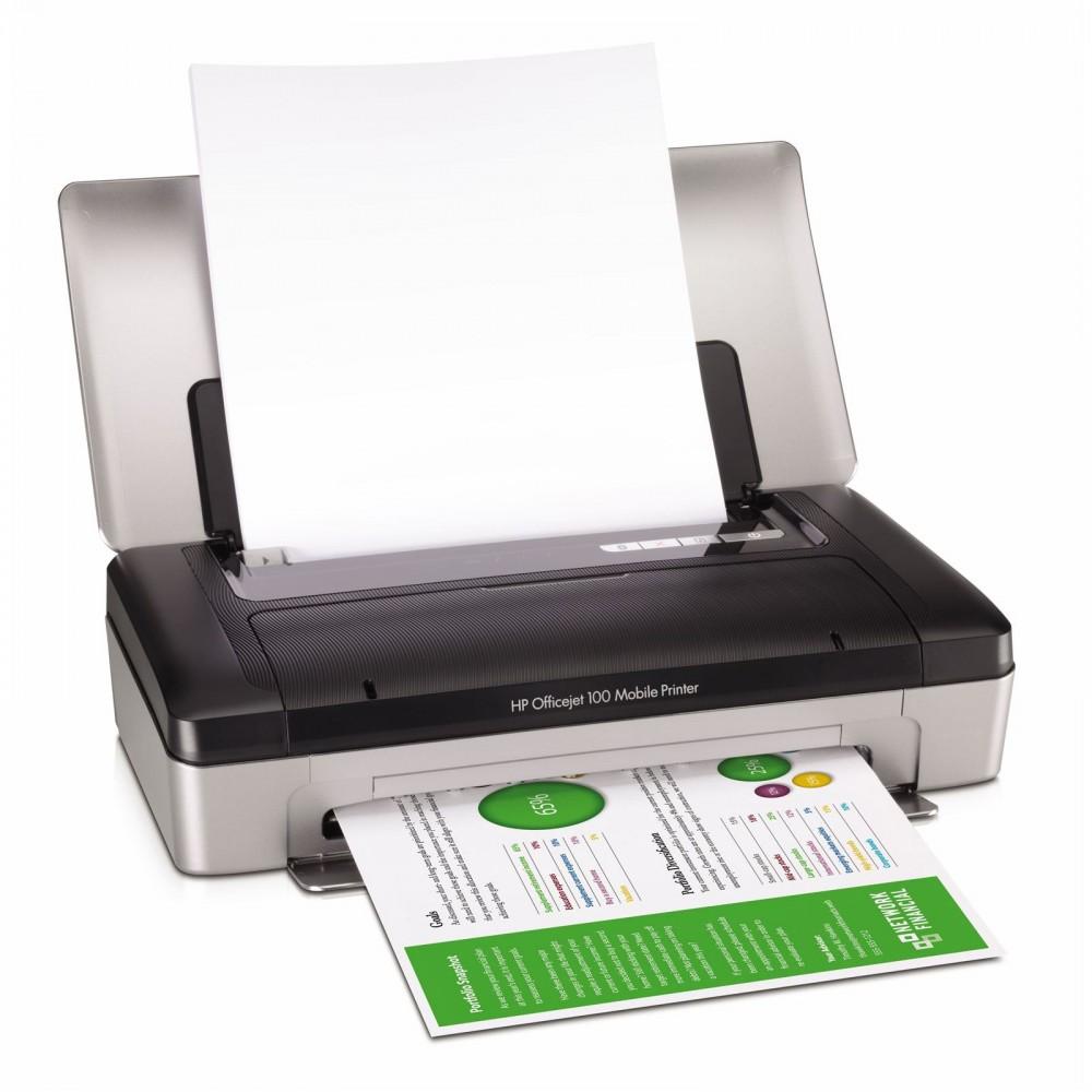HP Officejet 100 Mobile Printer [A4 Size]