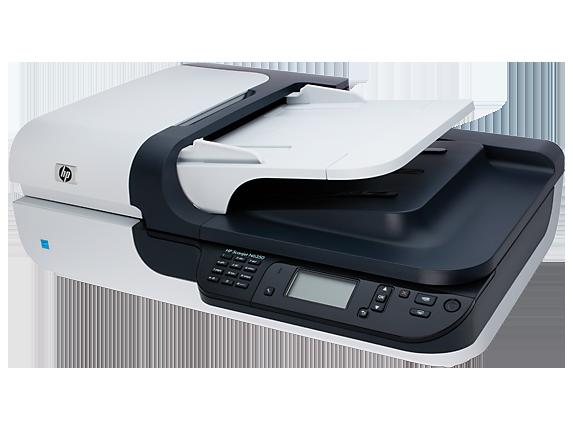 HP ScanJet N6350 Network Flatbed Scanner