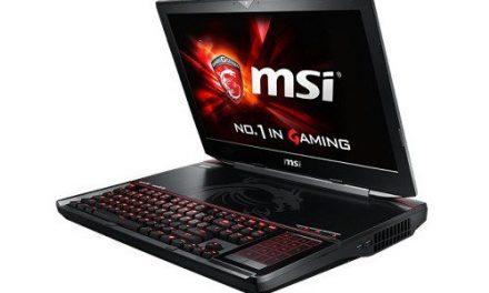 MSI GT80S 6QD Titan SLI (Dual GTX970M 6GB GDDR5)