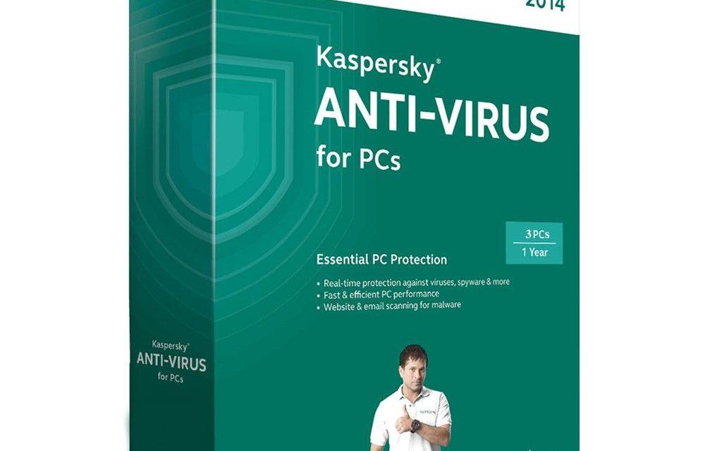 Anti Virus KASPERSKY 2014 (3-User)