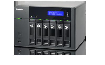 Storage Server NAS QNAP TS-670 Pro (2GB RAM)