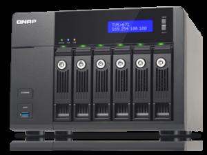 Storage Server NAS QNAP TVS-671-i3-4G
