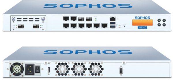 XG31TCHUS Sophos XG 310 Appliance Only