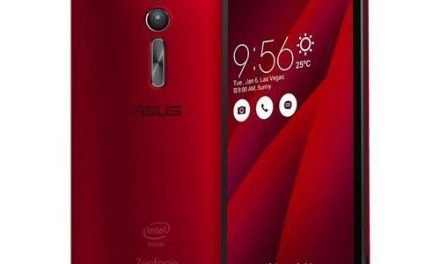 ASUS Zenfone 2 (16GB,2GB RAM) [ZE551ML] – Glamour Red