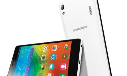 LENOVO A7000 Plus – Pearl White