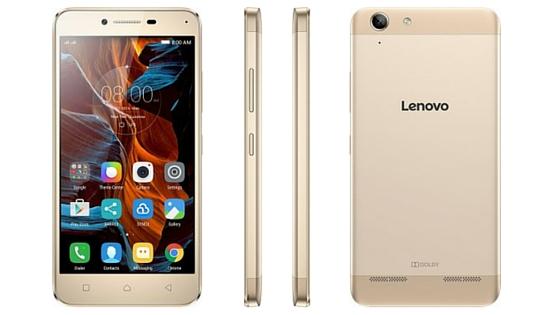 LENOVO Vibe K5 Plus (16GB/2GB RAM) - Champagne Gold