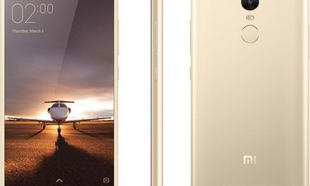 XIAOMI Redmi Note 3 3G – Gold
