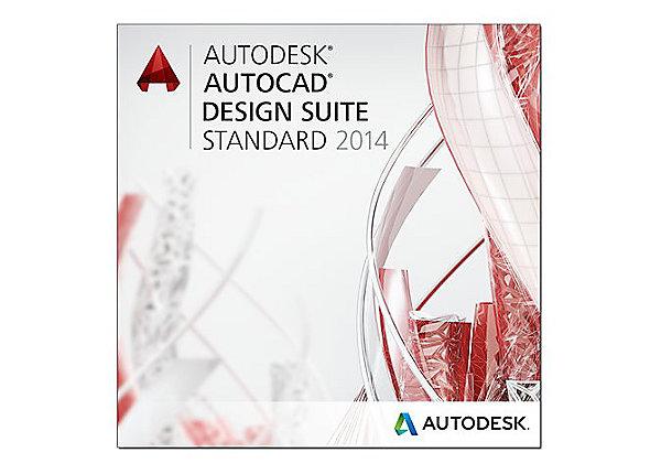AutoCAD Design Suite Standard 2014 SLM – 767F1-548111-17Y1