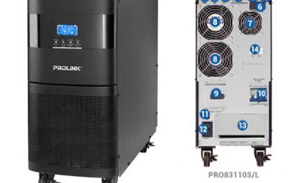 UPS Prolink PRO83110S/L – Online UPS 10kVA 3P/1P Tower