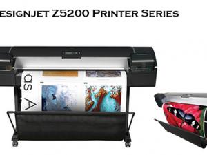 gambar gambar plotter HP Designjet Z5200