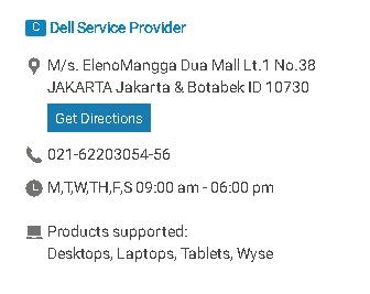 gambar dell service center manggadua