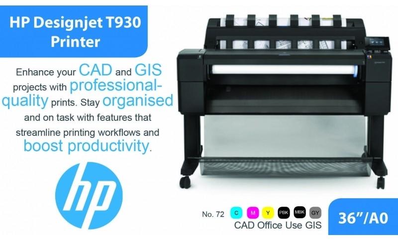 gambar HP DesignJet T930PS