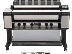 gambar HP Designjet T3500 E-MFP Printer [B9E24A] - Hadap Depan