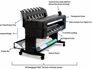 gambar HP Plotter T930PS