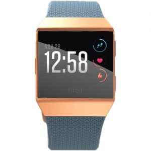 gambar Fitbit Ionic Fitness Watch (Slate Blue atau Burnt Orange) tampilan depan