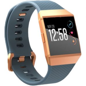 gambar Fitbit Ionic Fitness Watch (Slate Blue atau Burnt Orange)